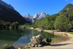 Local lake Jasna