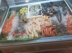 Marisco fresco - Vitrina, Jardi Mar Restaurante