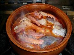 brodetto specialità zuppa di pesce  su prenotazione