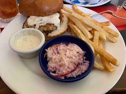 Crab Sandwich meal