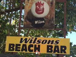 Wilson's Beach Bar - Castaway Resort Rarotonga