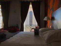 Vue de la suite nuptiale Lys Rouge