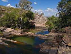 Gunlom Waterfall Creek