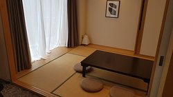 Tatami Mat sleeping area & Table