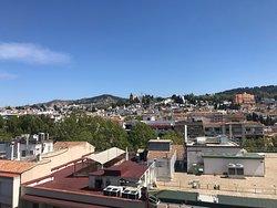 Vue du rooftop. Trop bien