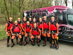 Awesome canyoning adventure from Edinburgh