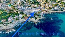 Restaurante Bretonnes Beach