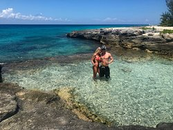 Snorkeling spot that takes you back to the El Cozumeleno Resort.
