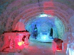 Kingdom of Permafrost, Yakutsk. Beautiful Ice Sculptures. It looks warm! It is freezing!
