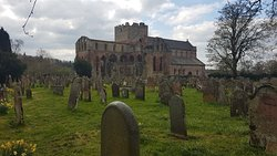 beautifully preserved priory
