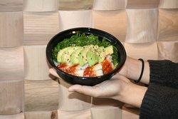 Salade wakame anguille.
