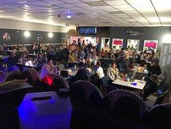 Kids enjoying the games Kerri's bar  Open the treasure chest  Karaoke  Family run  Cash Bingo  Pool table