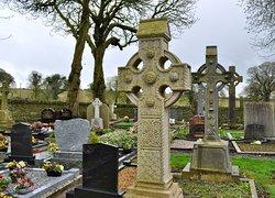 Celtic crosses at Monasterboice.