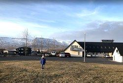 Beautiful Location. Mount Esja