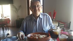 Ravioles a la bolognesa. Almuerzo domindo 14-04-19