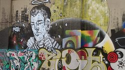 Athens is a main hub for political grafiti arts.
