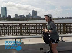 When was the last time you had this much #fun? If you can't remember, it's finally time you break down & join us on a #Segway #tour in #Boston 😉 www.bostonsegwaytours.net !