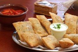 Pastel Misto - 12 unidades (lombo, queijo e carne de sol)
