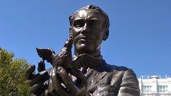 Federico Garcia Lorca Statue