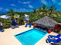 Unwind and relax at the pool