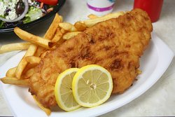 Great Food at Heritage Farm. Try our Fish & Chips!