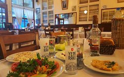 "Traditional Istanbul ""Meyhane"" (tavern)"