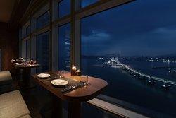 Dining Room Couple Seat Night