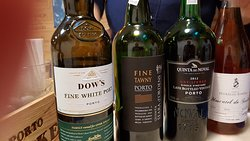 The Port and great desert wine (rosé)