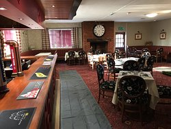 Function room with bar