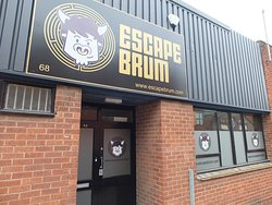 Escape Brum from the street