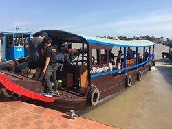 Mekongrivertourist's boat