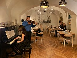 Our special evening events with piano and violin. This is MY WAY & GOSTILNA VITEZ