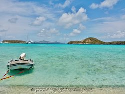 Exploring the paradise of St. Vincent & the Grenadines; Tobago Cays.