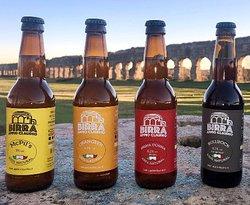 Birra Artigianale Appio Claudio. Un'esclusiva di Appio Claudio Chef, prodotta con acqua di Roma.