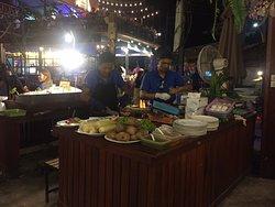 Het betere restaurant op Railay Beach.