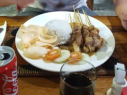Delicious food and large portions for good price