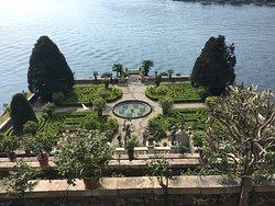 Fantastic castle with impressive garden