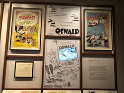 Oswald Rabbit, Disney's first cartoon character, was stolen by a business associate. This led to the creation of Mortimer Mouse who later became Mickey Mouse.