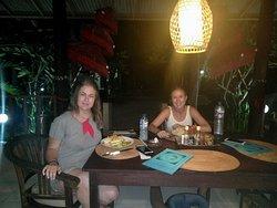 lovely dinner:)