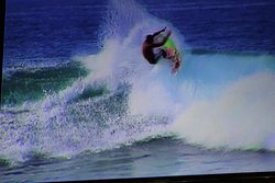 Always have the surfing on the telly and big screens