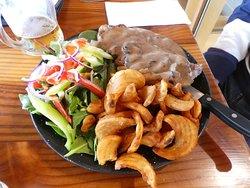 Steak & Mushrooms