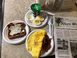 Nice breakfast.
