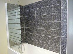 Baignoire-douche chambre Twin