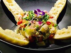 Ceviche fish