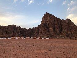 Comodidades en mitad del desierto