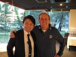 my friend  Makoto !
