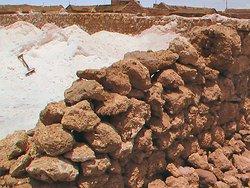 Interesting salt business at the edge of Salar de Uyuni