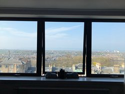 Large windows and breathtaking view