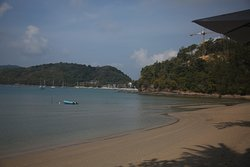 Beach View from Restaurant