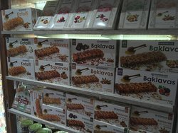Traditional Products! Stuffed dried figgs, baklavas, Kataifi and Greek Delights